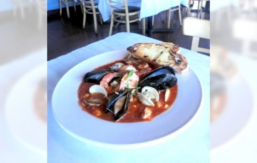 Bouillabaisse with Shrimp and Loch Duart Salmon