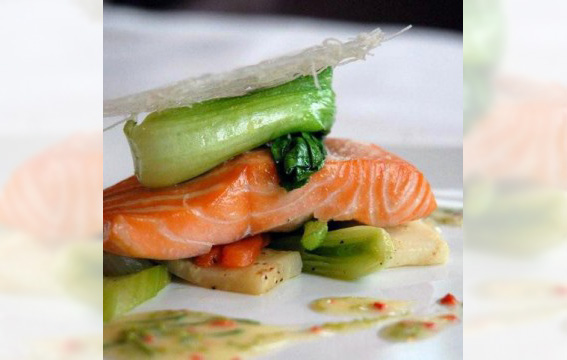 Loch Duart Salmon from Chef Alan Gibb