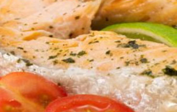 Baked Creamy Salmon